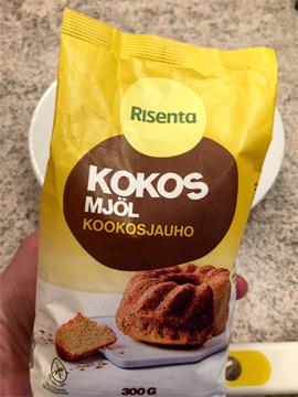 istället för kokosmjöl